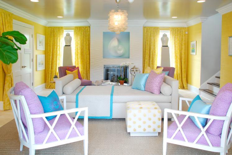 Eileen k Boyd yellow and purple