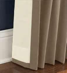 Drapery Lining on Curtain Back