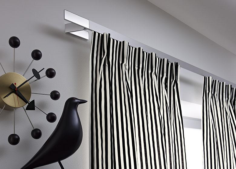 Modern Styled Curtain Rod Hardware by JAB-Anstoetz