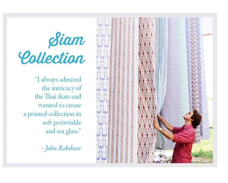 Duralee Designer John Robshaw Fabrics for Custom Bedding and Pillows