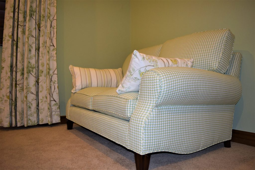 Love Seat After Uphosltery Services